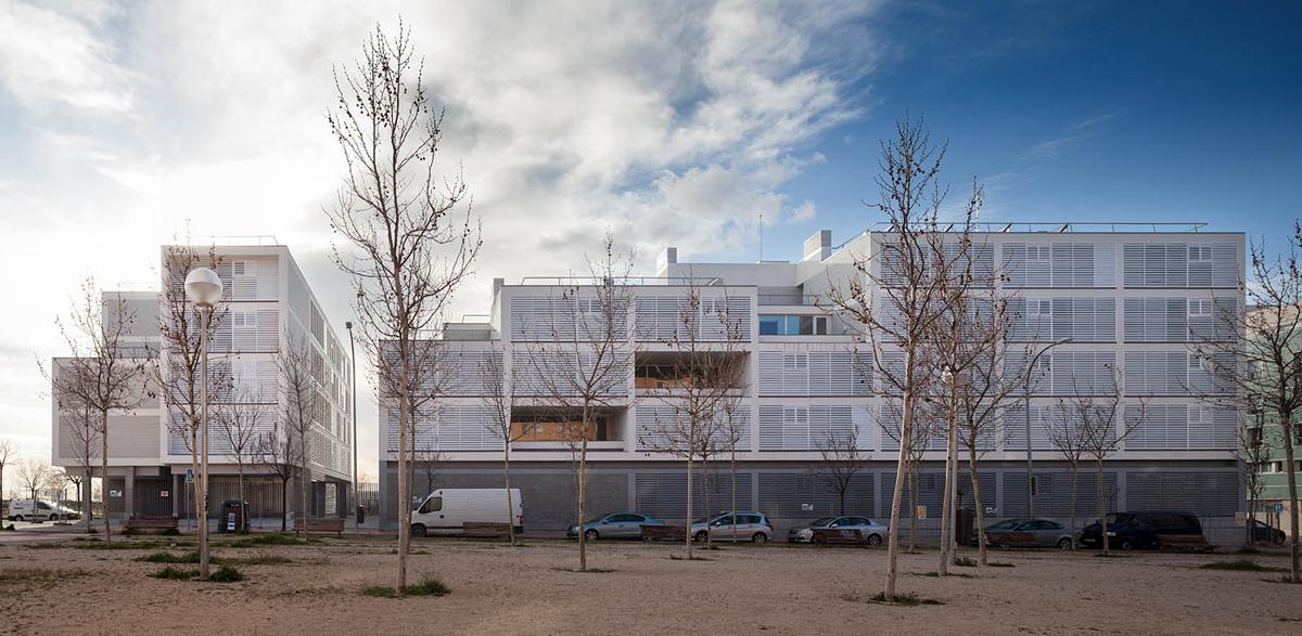 Blogfundamentos edificio de viviendas con protecci n for Obra nueva ensanche de vallecas