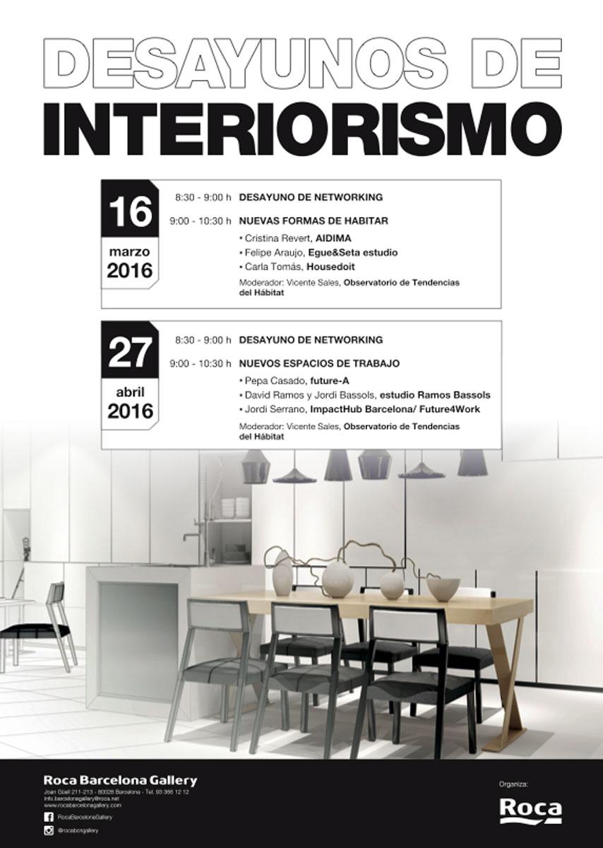 Blogfundamentos desayunos de interiorismo roca - Escuela de arquitectura de barcelona ...