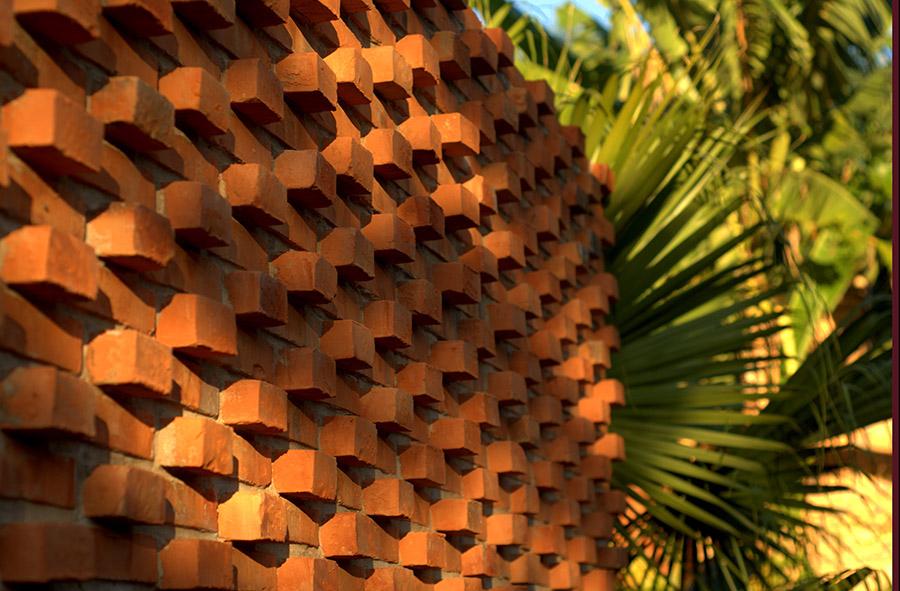 Blogfundamentos vivienda tc en asunci n paraguay - Muros de ladrillo visto ...